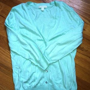New York & Company Mint green 3/4 length sleeve